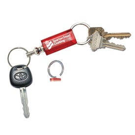 Two-Sided Rectangle Key Tag