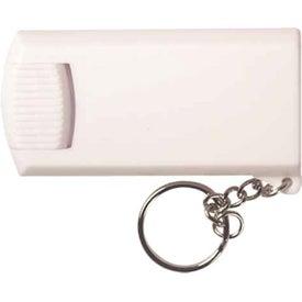 Company Rectangular Light Key Chain