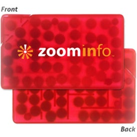 Rectangle Puzzle Credit Card Mint Branded with Your Logo