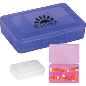 Rectangle Shape Pill Holder