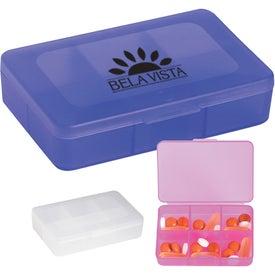 Rectangle Shape Pill Holder