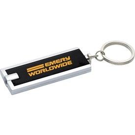 Rectangular Key-Light Imprinted with Your Logo