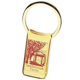 Rectangular Keytag for Your Church