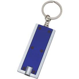 Custom Rectangular LED Key Chain