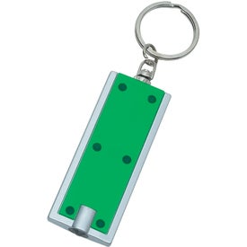 Rectangular LED Key Chain for Your Company