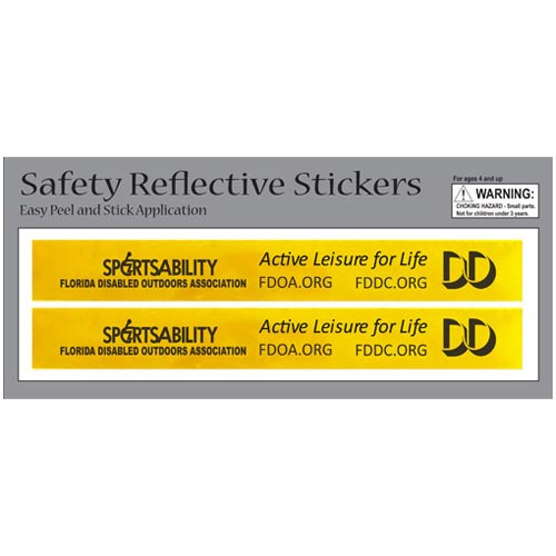 Rectangular Safety Reflective Stickers