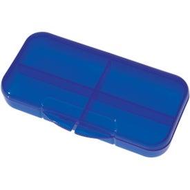Rectangular Shape Pill Holder Giveaways