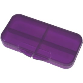 Rectangular Shape Pill Holder for Your Company