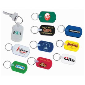 Rectangular Soft Key Tag for Your Church