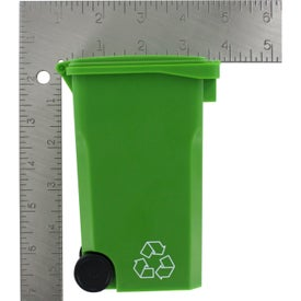 Monogrammed Recycle Bin Pen Holder