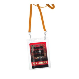 Recycled Dual Attachment Lanyard for Advertising