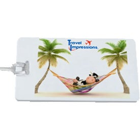 Printed Recycled Luggage Tag