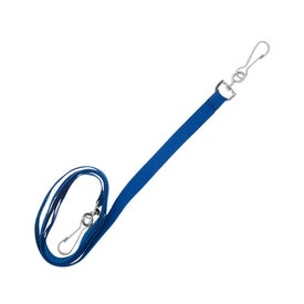 Recycled Econo Dual Attachment Lanyard for Customization