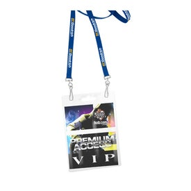 Recycled Econo Dual Attachment Lanyard Giveaways