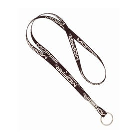Recycled Sublimated Lanyard with Split Ring