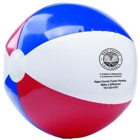 "Red White and Blue USA Beach Ball (16"")"