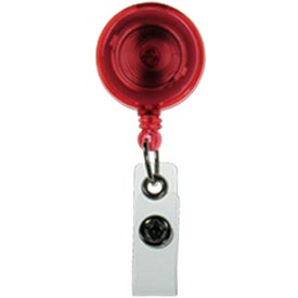 Retractable Badge Holder Imprinted with Your Logo