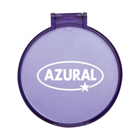 Monogrammed Reflection Compact Mirror