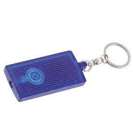 Imprinted Reflective Key Tag