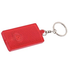 Reflective Key Tag Branded with Your Logo