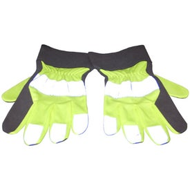 Imprinted Reflective Safety Gloves
