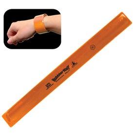 Customized Reflective Safety Slap Bracelet