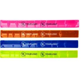 Reflective Safety Slap Bracelet Giveaways