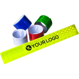Customized Reflective Slap Wristband