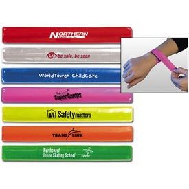 Reflective Snap Band for Advertising