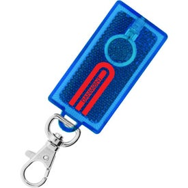 Branded Reflector Flashlight Clip