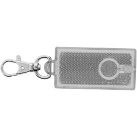 Reflector Flashlight Clip Imprinted with Your Logo