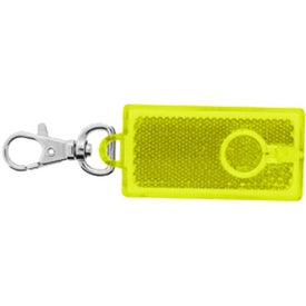 Monogrammed Reflector Flashlight Clip