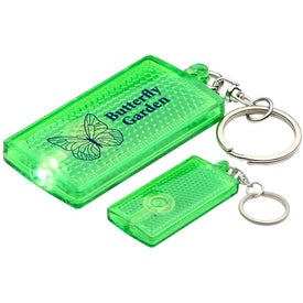 Primary Touch Reflector Light Key Chain with Your Logo