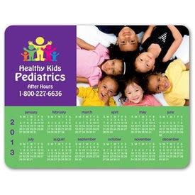 Company Respositionable Calendar Counter Mat