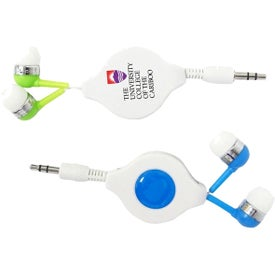 Retractable Accent Earbuds