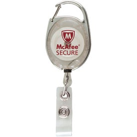 Advertising Ultimate Retractable Badge Holder with Carabiner