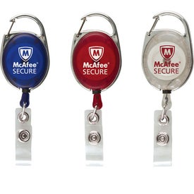 Company Ultimate Retractable Badge Holder with Carabiner