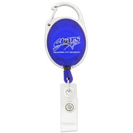Personalized Retractable Badge Holder with Clip