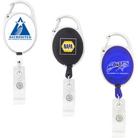Retractable Badge Holder with Clip
