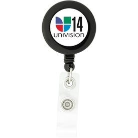 Customized Round-Shaped Retractable Badge Holder