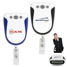 Retractable Badge Holder Pedometer for Your Organization