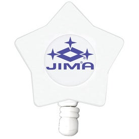 Promotional Star Shaped Retractable Badge Holder