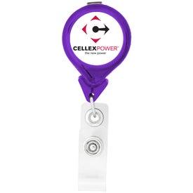 Tear Drop Retractable Badge Holders Giveaways