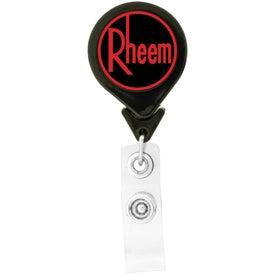 Customized Tear Drop Retractable Badge Holders