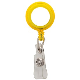 Retractable Badge Holder with Crocodile Clip Design Giveaways