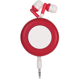 Push Button Retractable Ear Buds for Your Organization