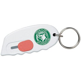 Retractable Key Holder/Cutter for Marketing