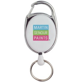Company Retractable Keyring