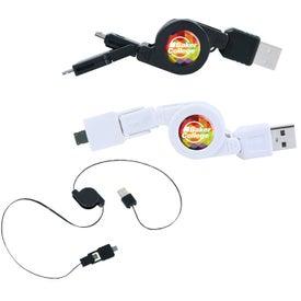 Retractable Multi USB Cable