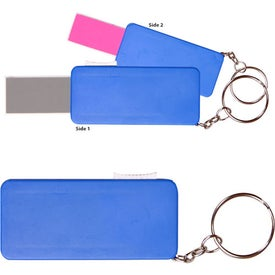 Promotional Retractable Nail File Keychain